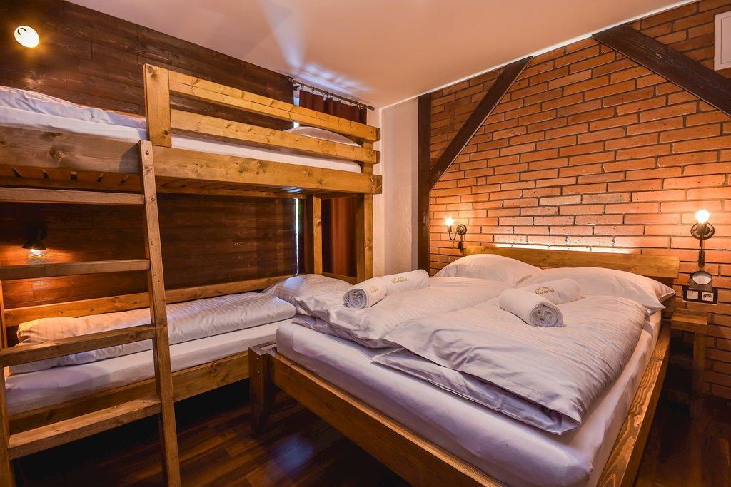 Spálňa chaty MartinSki - prenájom ubytovanie Martinky